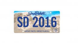 license plate 2016