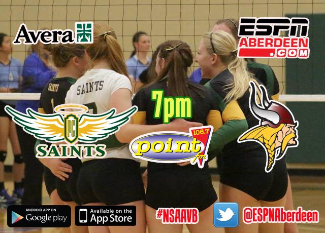 10-26-16 Saints Volleyball