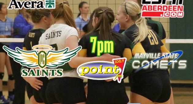 10-27-16 Saints Volleyball