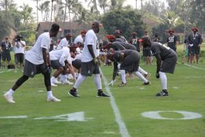 Pro Bowl Practice