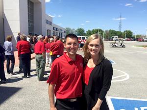 Matt and Abigail Johnson of Fort Dodge Ford.