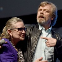 Carrie Fisher and Mark Hamill; Ben A. Pruchnie/Getty Images for Walt Disney Studios