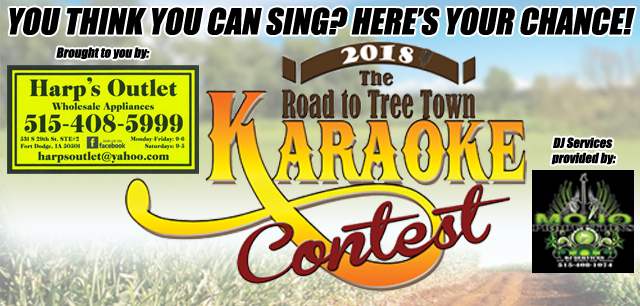 2018 Road to TreeTown Karaoke Contest | Alpha Media - Fort Dodge