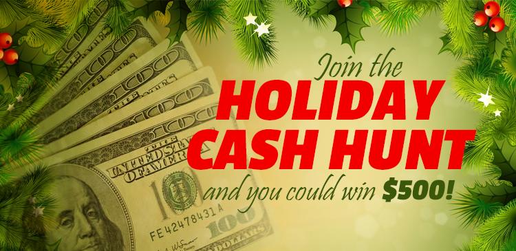 Holiday Cash Hunt