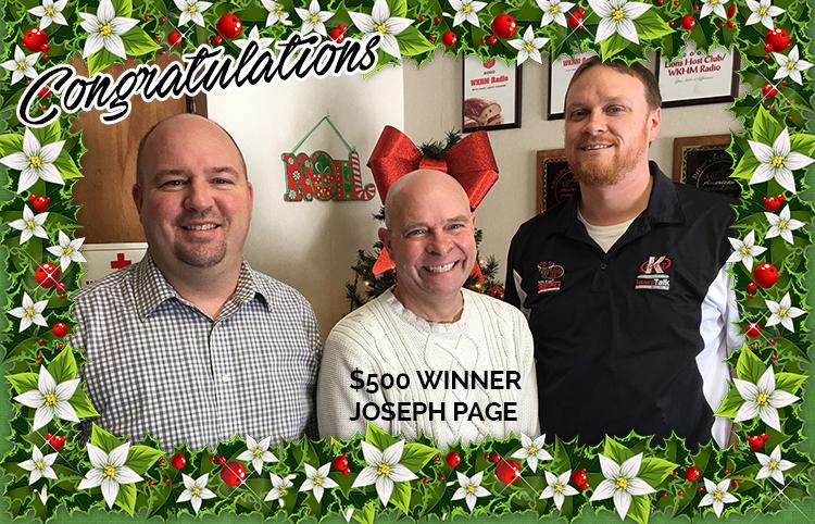 Winner Joe Page Framed
