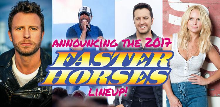 Faster Horses Festival Announcement!