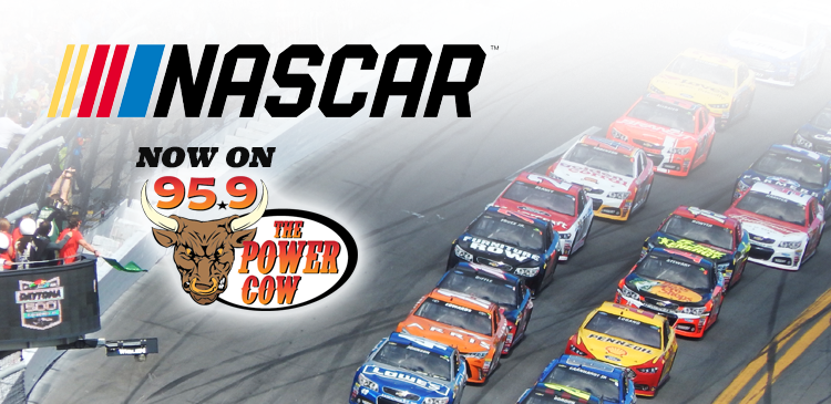 2018 Monster Energy NASCAR Cup Series now on 95.9 The Power Cow