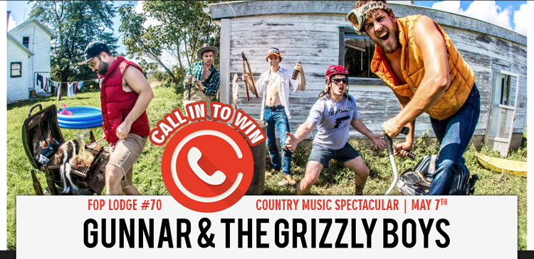 Call in to Win Tickets to the Country Music Spectacular