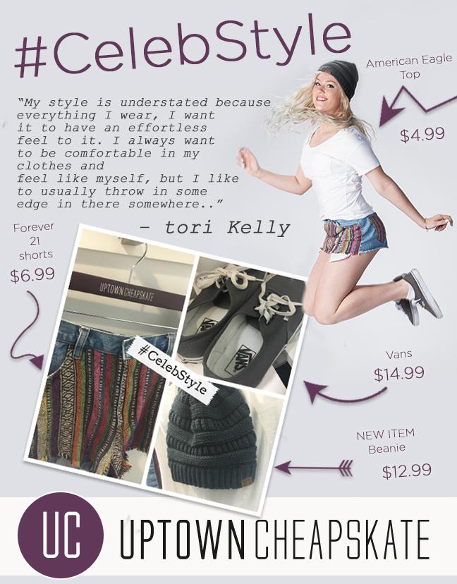 Uptown  - CelebStyle - Tori Kelly
