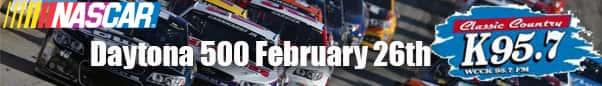 NASCAR now on WCCK 95.7