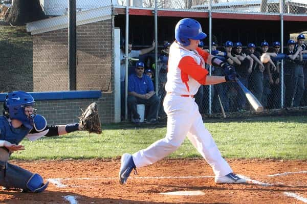 Chandler Rogers was 2 for 4 at the plate with four RBIs in the Marshals season opener 23-0 win over Crittenden County.
