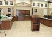 Newly renovated Fiscal Court room.