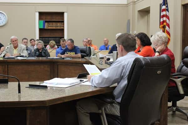 Assistant County Attorney Jason Darnall read through the Ordinance changes made after the first workshop meeting.