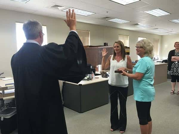 griffith takes oath as new circuit clerk marshall county