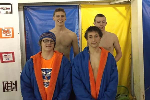 Marshall County S Boy S 4 215 400 Freestyle Relay Qualifies