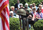 The Annual Memorial Day Program was held Monday at the Mike Miller Park Veterans Honor Plaza.