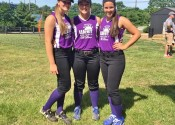 Representing Region 1 on the West All-Star junior team (L-R) Kalli Harris (McCracken County), Lexee Miller and Payton Smothers from Marshall County.