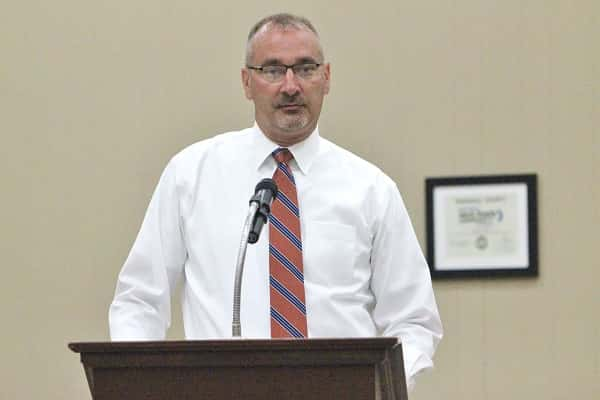 Marshall County ABC Administrator, Scott Brown, presented the quarterly report to the Fiscal Court.