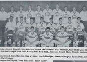 1989 Marshals Basketball Team