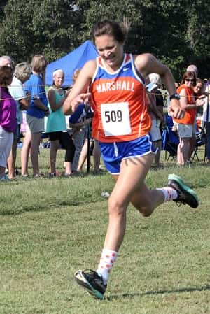 Jordyn Ray led the girl's team with 32nd.