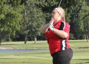Maddie Ortt placed 7th with her round of 86 at Monday's 1st Region Tournament at Calvert City Country Club.
