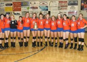 4th District Tournament Champion Lady Marshals.