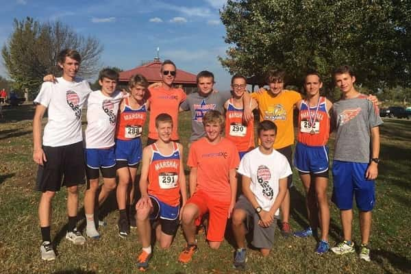 Marshall County's boy's cross country team qualified for the KHSAA State Meet at Saturday's Class 3A Region 1 Championship at Yellow Creek Park in Owensboro.