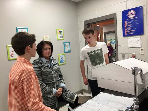 South Middle Students Use Math Concepts To Build Tiny House