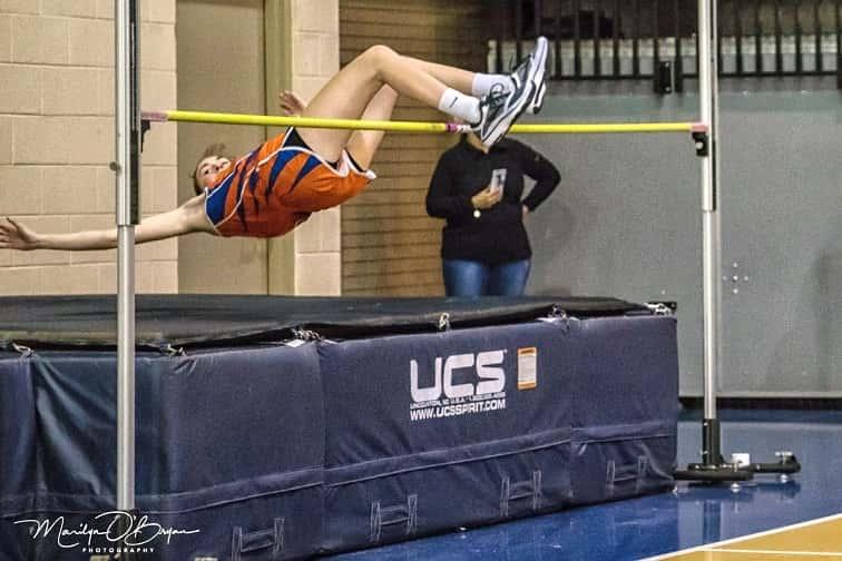 edinboro high school indoor track meet events