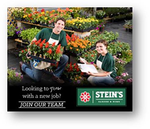 Stein's is hiring!