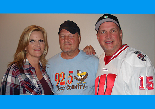 Mitch, Garth, Trisha