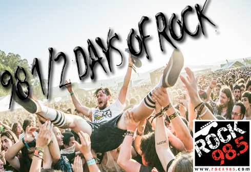 985 days of rock
