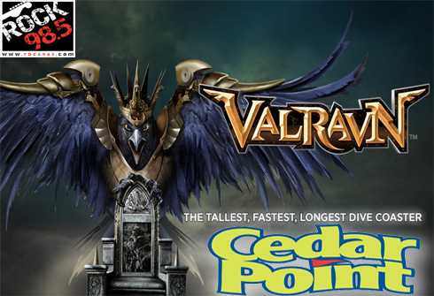 cedar point valraven rock