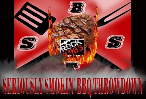 seriously smoking bbq throwdown actual logo