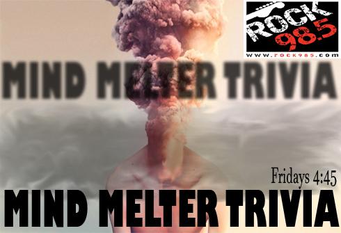 Mind Melter Trivia flipper