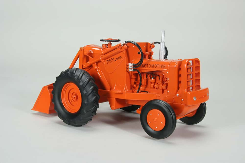 Orange Spectacular Allis Chalmers Tractor Machinery And