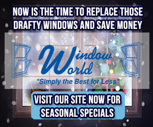 Window World December banner ad