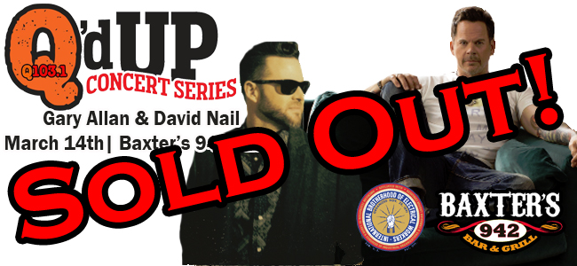 gary david Sold Out
