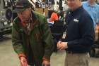 95-year old Forrest, teaches Joe a thing or two about Washers!