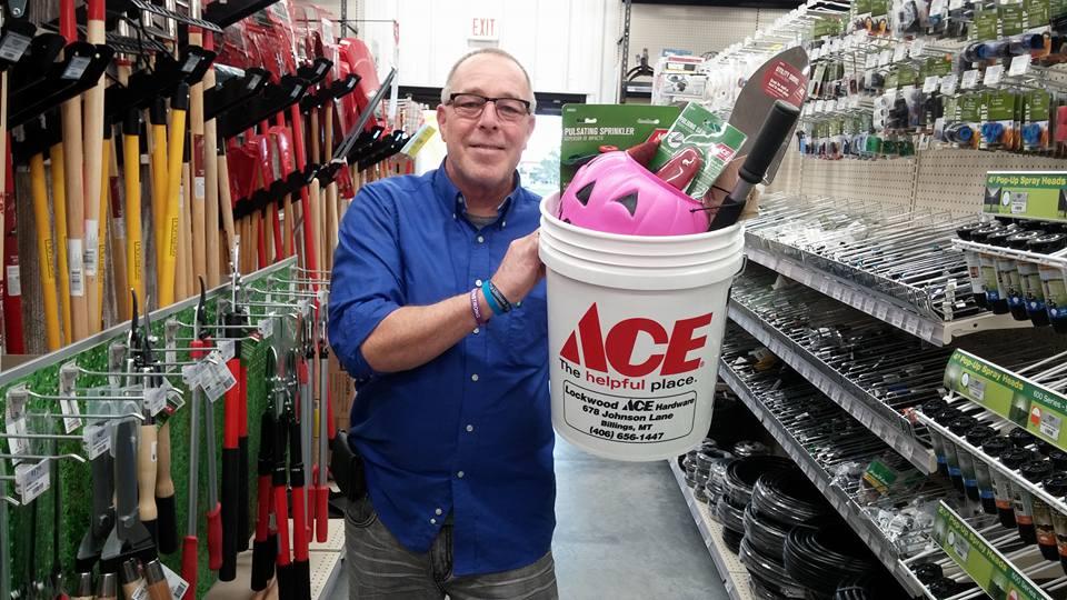 ace bucket stuff