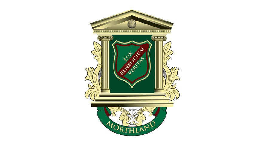 morthland college crest