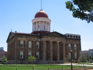 Photo courtesy of http://en.wikipedia.org/wiki/Old_State_Capitol_State_Historic_Site_(Illinois)