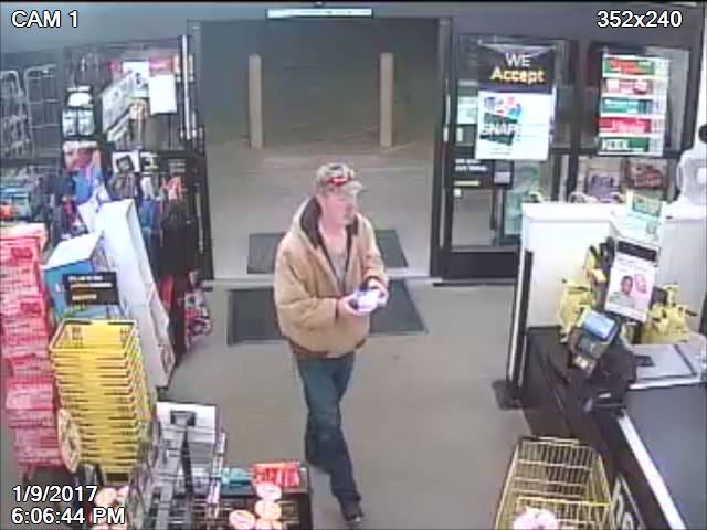 Williamson Co. Sheriff's office asking public's help in identifying theft suspect