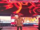Danny Salas standing on the WWE Raw ramp