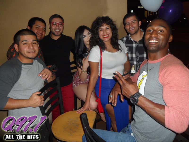 8.28.2015 - Q97.1 was at Club Score in the Tower District Friday ...