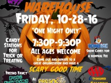 scarehouse warehouse 2016 - Flyer