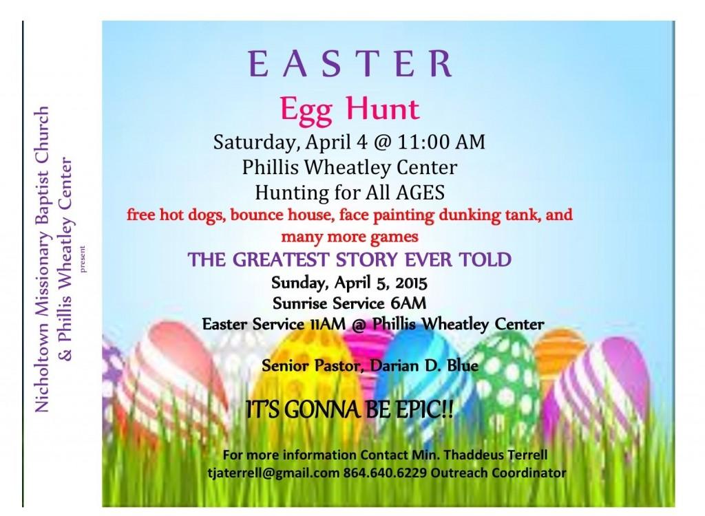 Easter egg hunt wjmz 107 3 jamz for Easter egg fun facts