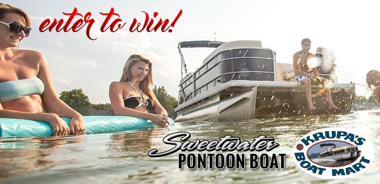 Enter to Win a Pontoon!!