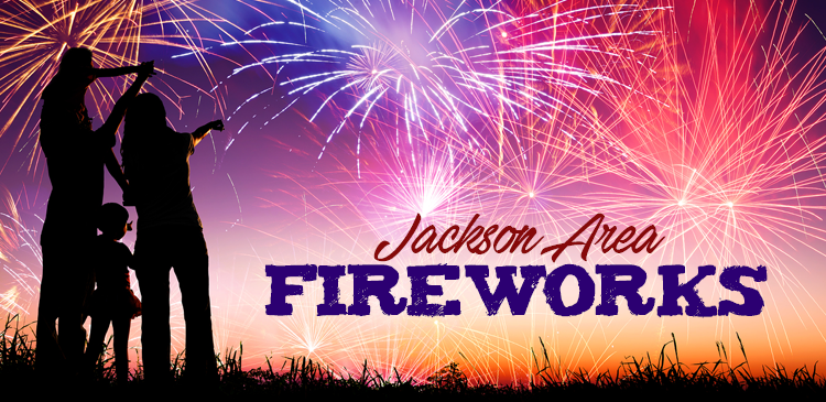 Jackson-Area Fireworks Shows