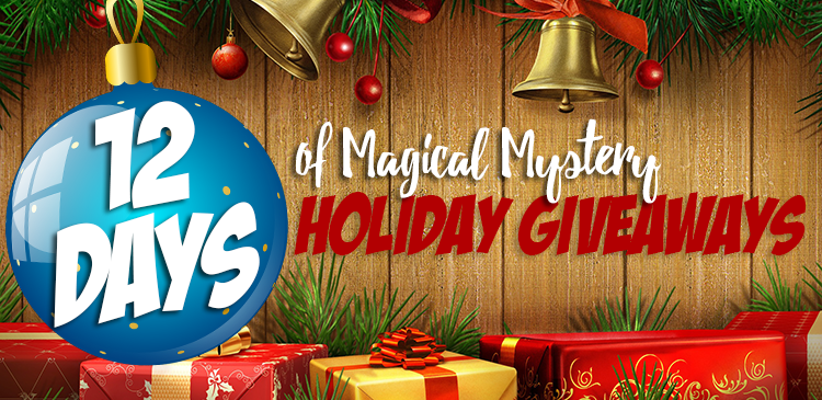 12 Days of Magical Mystery Holiday Giveaways